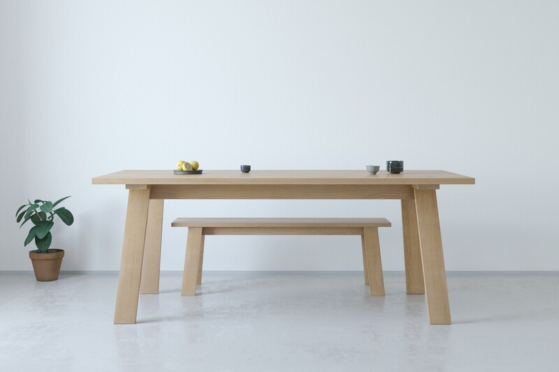 LL36 Trestle Table