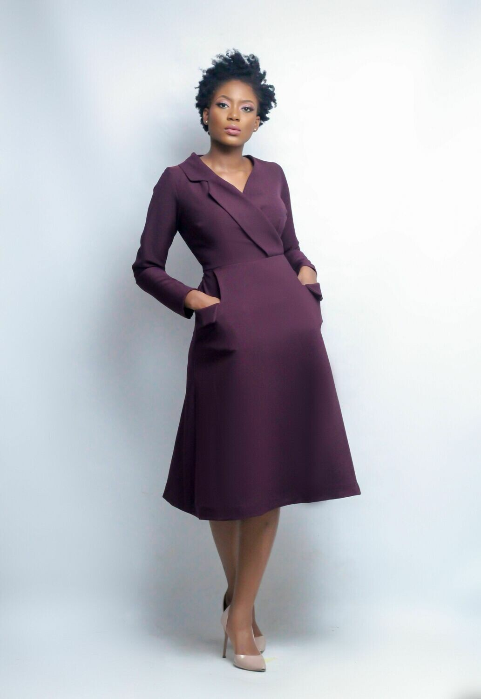 The Sirleaf Dress
