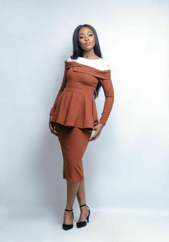 The Aisha. A Dress
