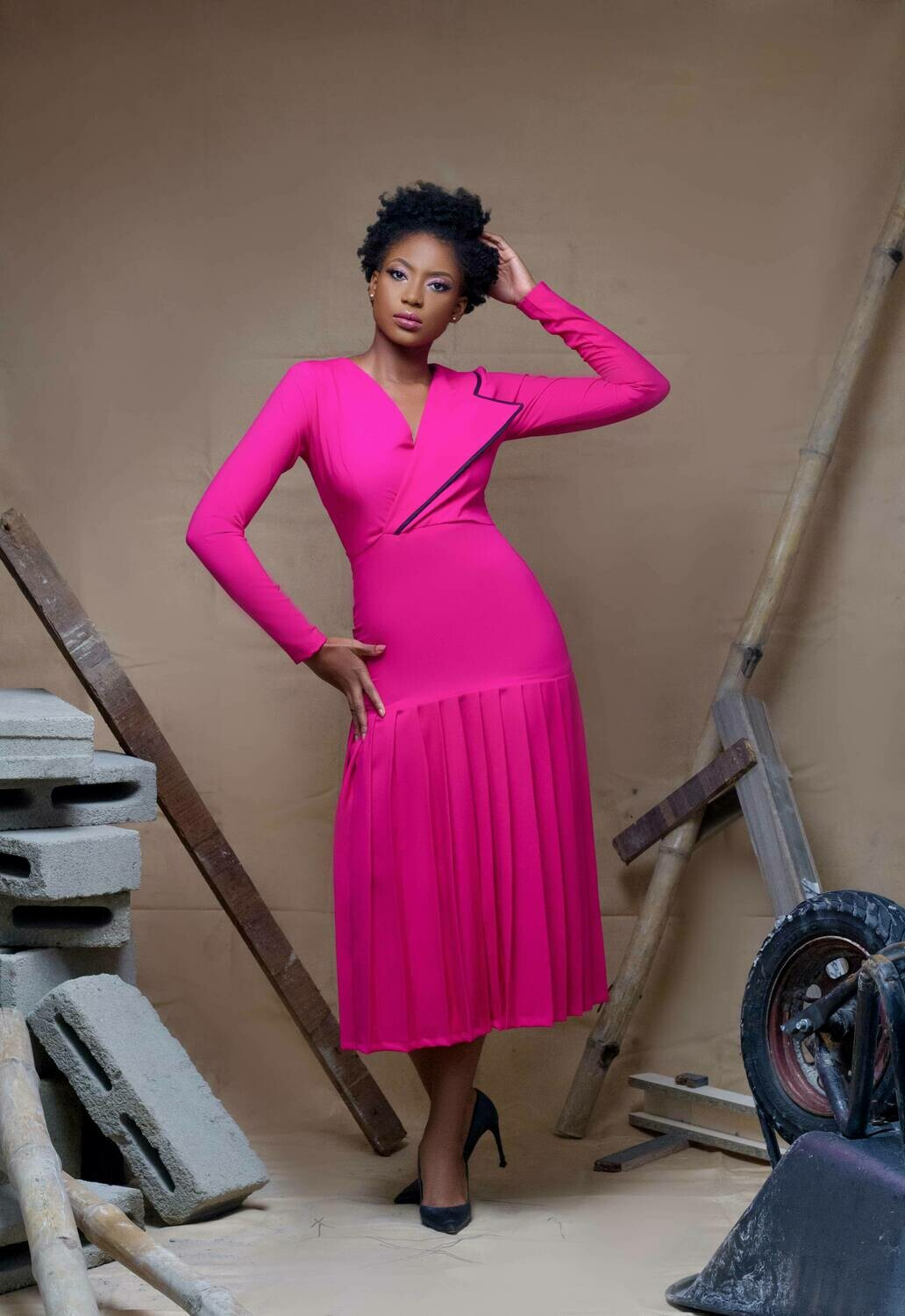 Amina Dress - With flap to cover stomach