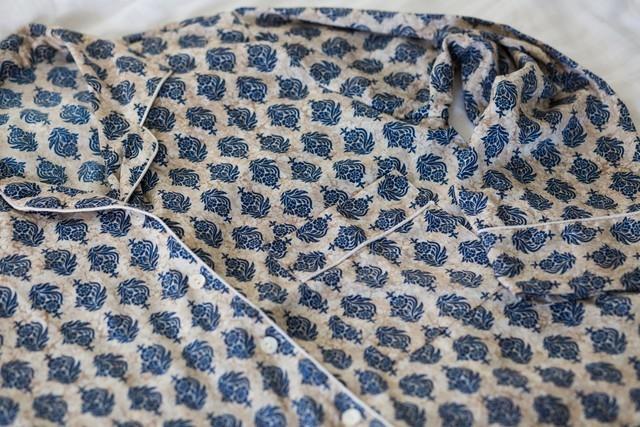 Creme Motif Loungewear Set (XS)
