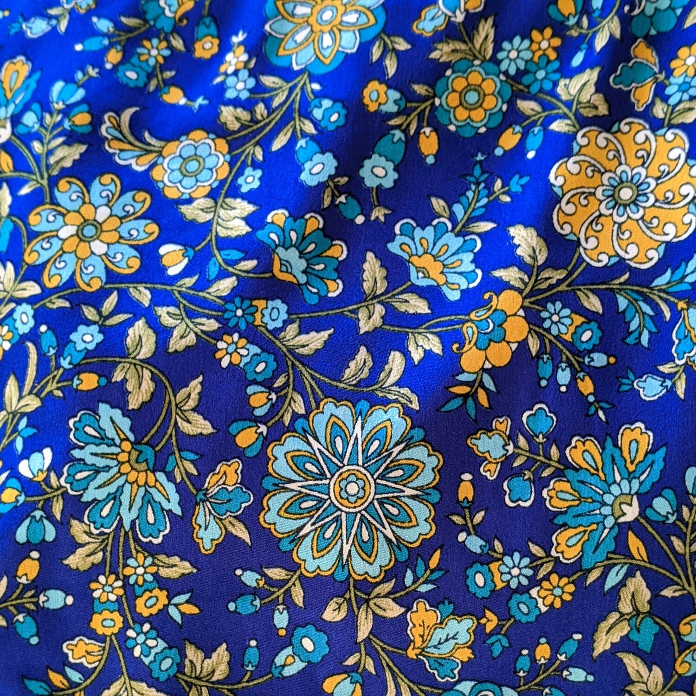 Blue Floral Loungewear Set (M)