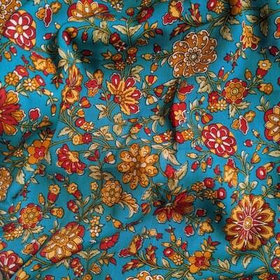 Teal Floral PJ Bottoms (XS / UK 10)