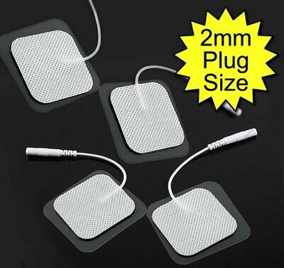 4 Pack Tens/Estim Replacement Electrode Pads Self-Adhesive 5cmx5cm