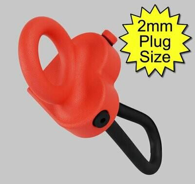 Joannes Loveheart Monopole 6mm Conductive Rubber Electrode 2mm Plug