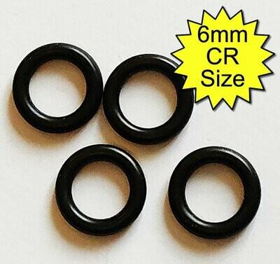 Non-Conductive Rubber O-Rings