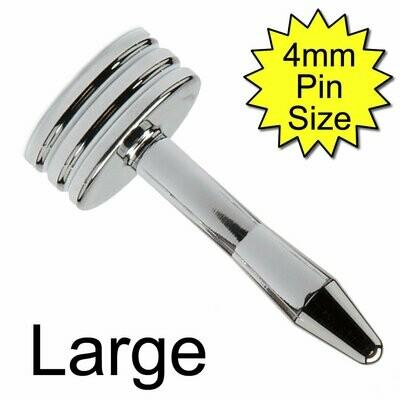Large Diamond Penis Plug Monopole Electrode