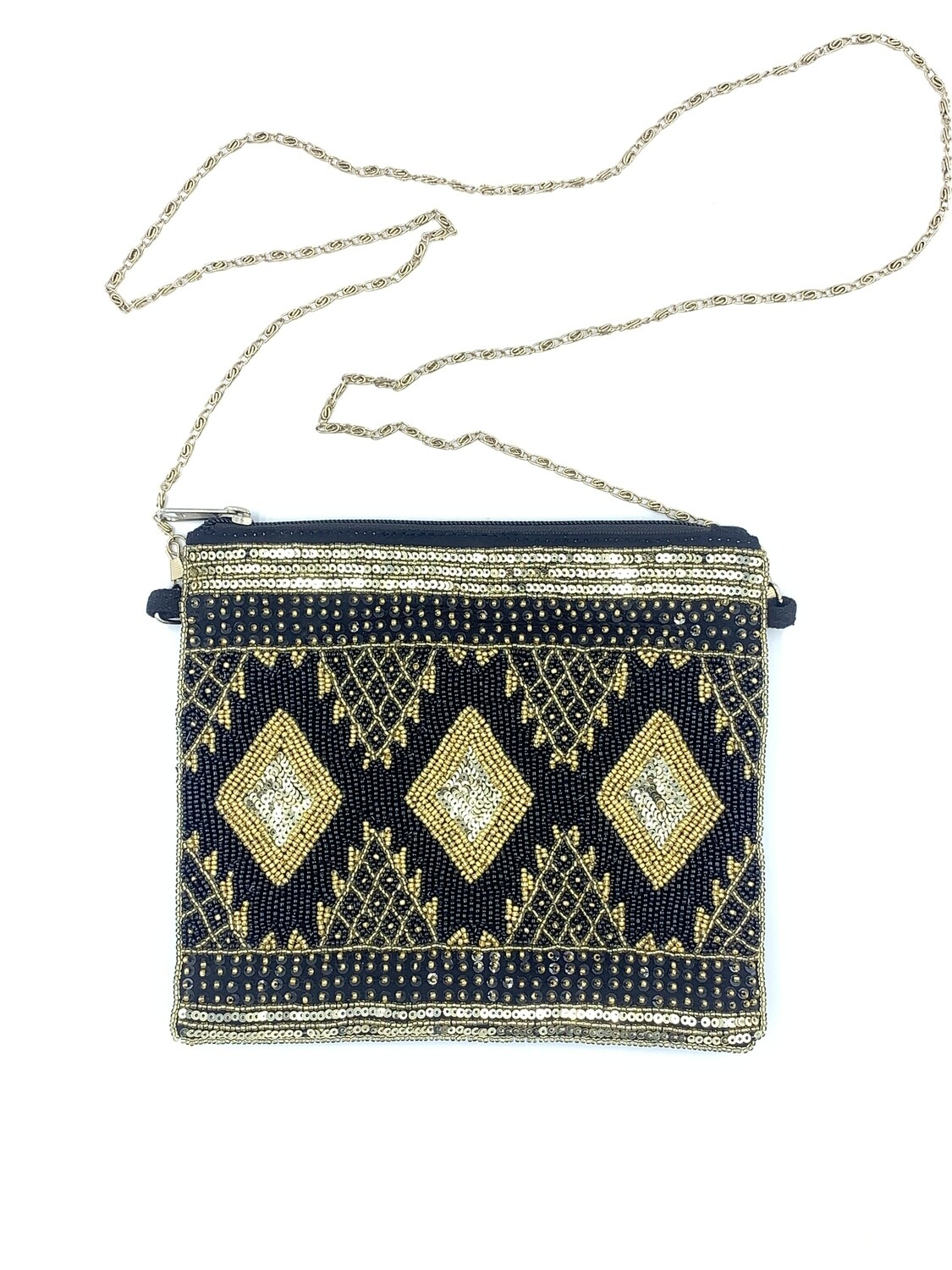 Gold Sequin Bag