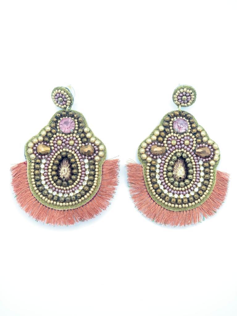 Brinley Rosa Earrings