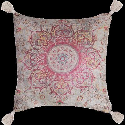 Polycotton Chenille Digital Print Cushion with Insert