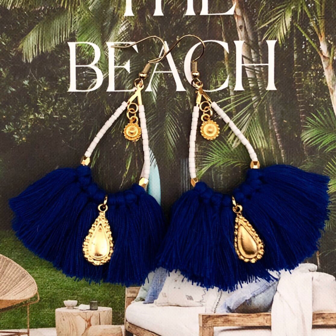 Lolita tassel earrings