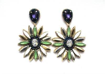 Jemima Beaded Earrings