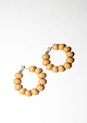 Chelsea Wood Earrings