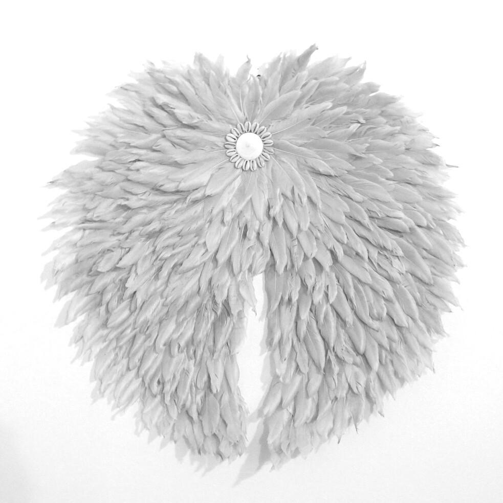 Angel Wing Grey feather Juju 60cm