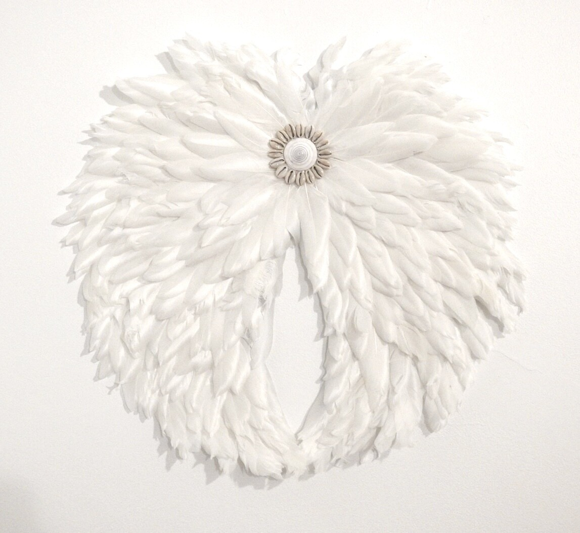 Angel Wing White feather Juju 60cm