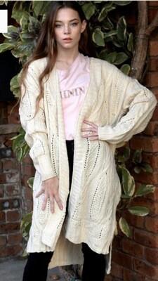 Paloma Knit Cardigan Cream