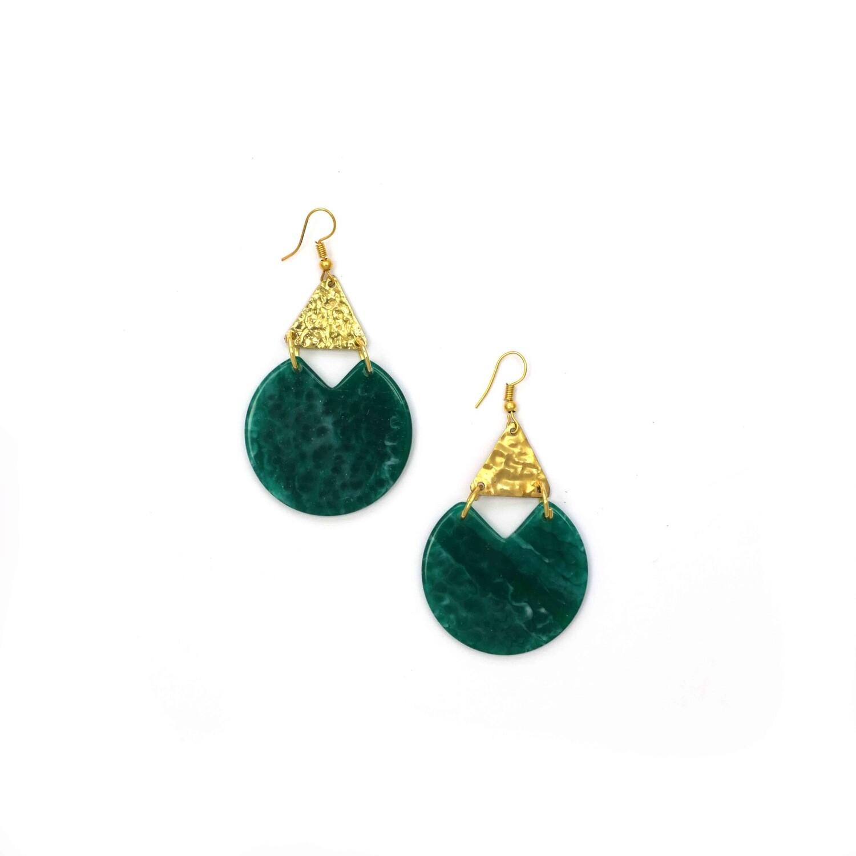 Indy Emerald Earrings