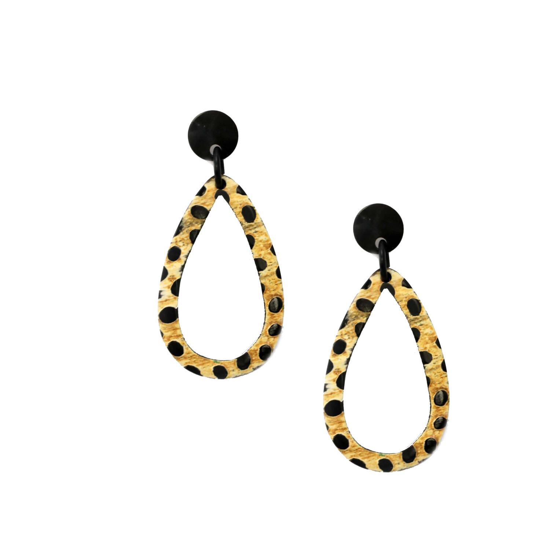 Tiger Drop Earrings