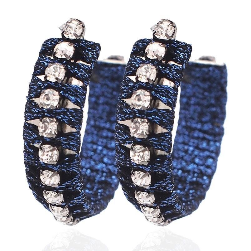 Anita Hoop Earrings