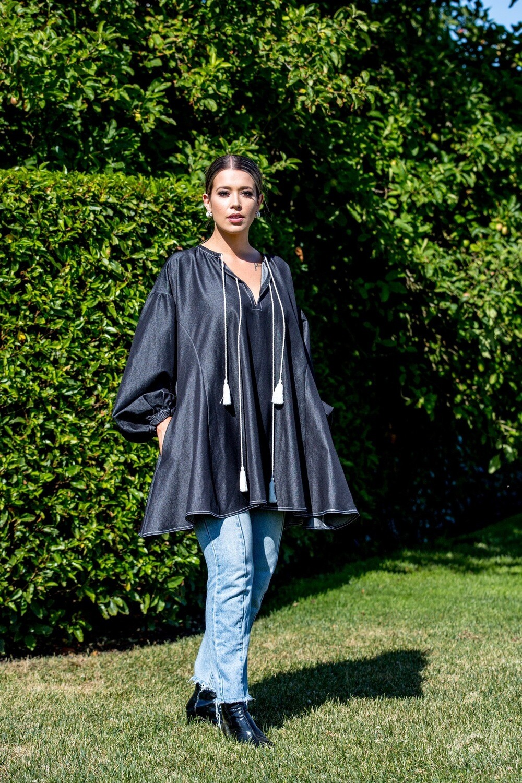 Alba Denim Shirt\Dress ink