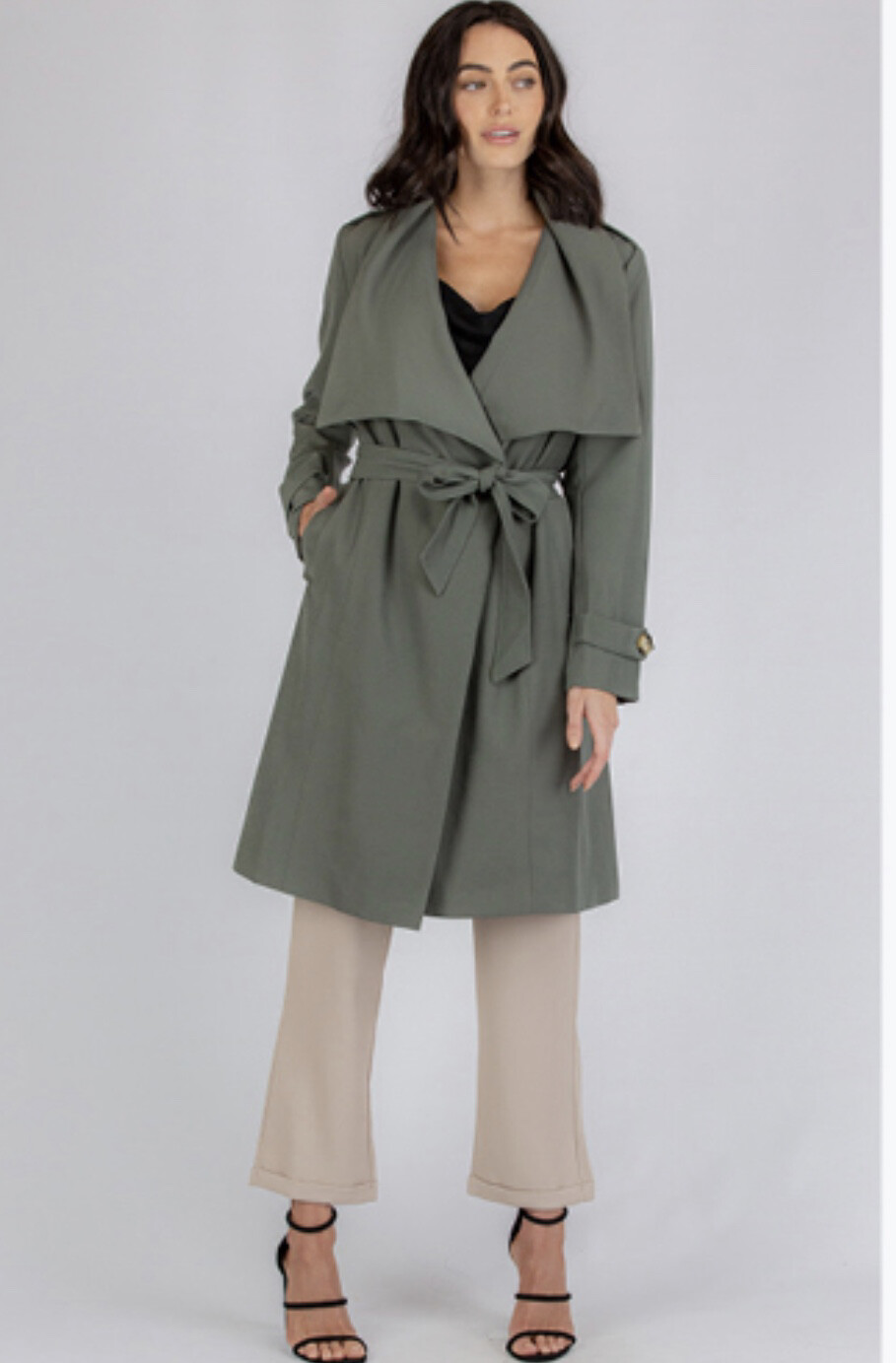 Emily Wide Collar Coat