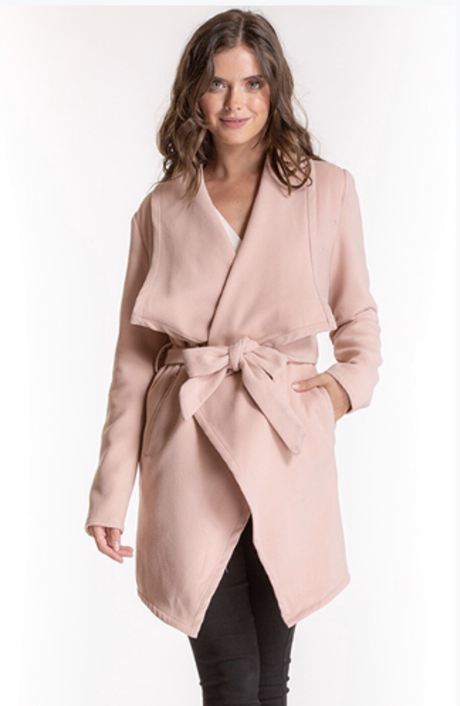 Arabella Coat Pink