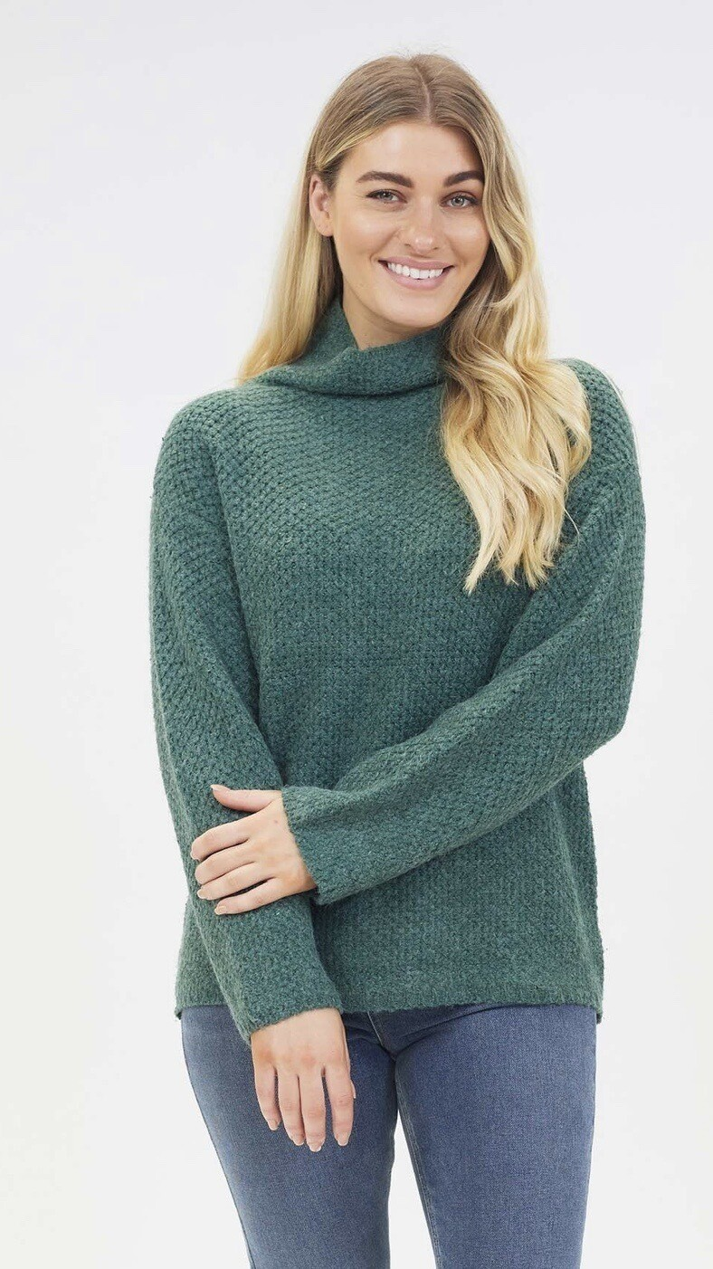 Diamond Texture Knit