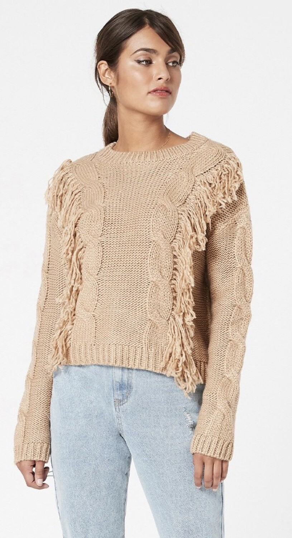 Issey Fringe Sweater