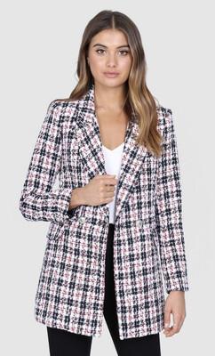 Aisha Tweed Blazer