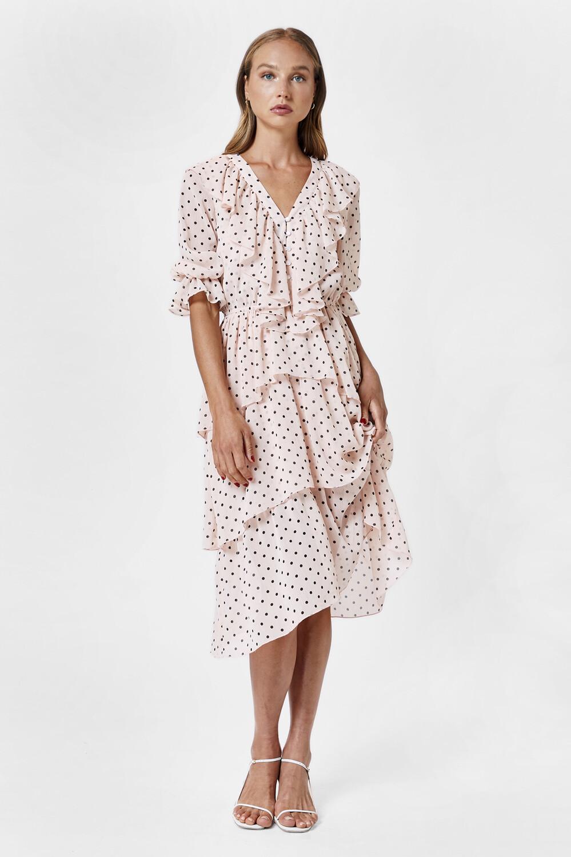 Romantic Story Dress Pink
