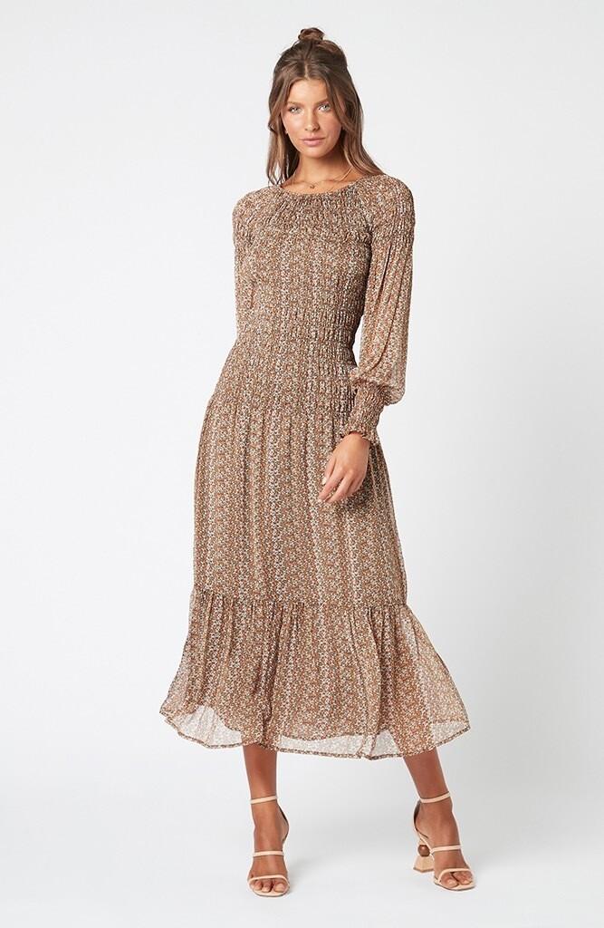 Noah Floral Midi Dress