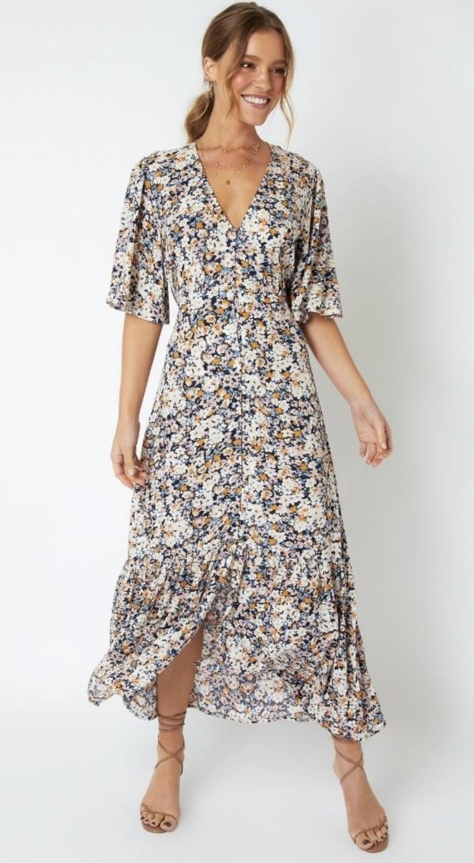 Samaria Sun Midi Dress