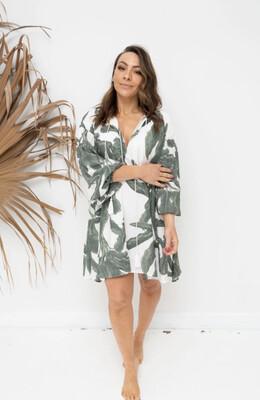 Alba Shirt/Dress Lush Print