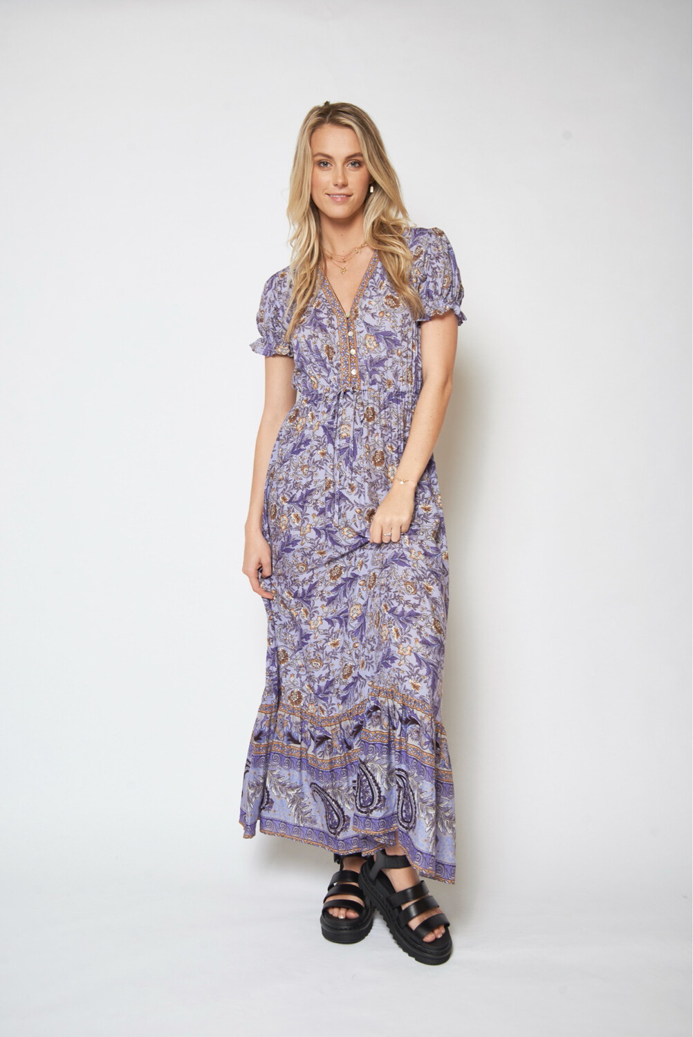 More Is More Maxi Dress