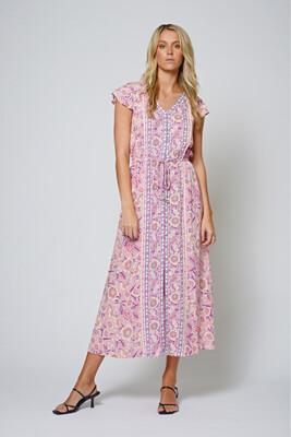 Foxy Maxi Dress Lilac