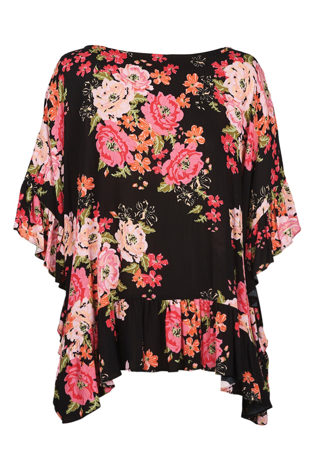 Marquis Frill Top Black