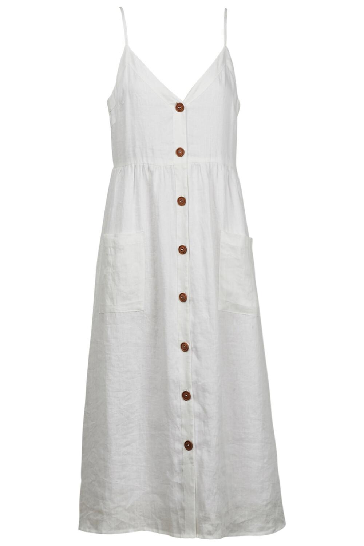 Phoenix Dress White