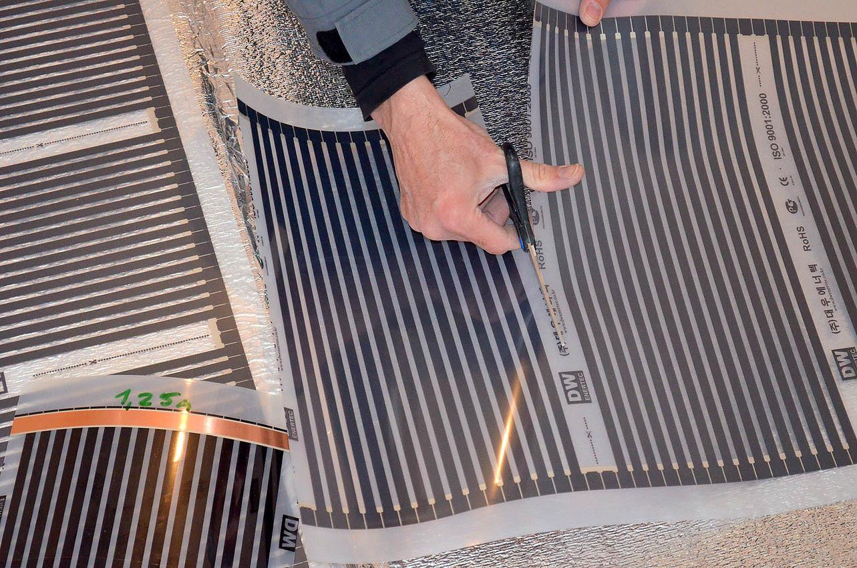 Калкулатор за стойността на подово отопление с включен монтаж (отоплително фолио)