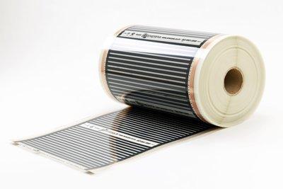 Инфрачервено отоплително фолио 220 Вт/кв.м, ширина 50, 80 и 100 см на избор