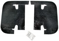 DUST COVER SET-A ARM-WITH FASTENERS-PAIR-67 (#E3289) 4D5