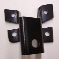 BRACKET-STEERING DAMPER ON FRAME WITH OUT POWER STEERING- EACH -63-68 (#58030)