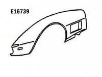 FENDER-FRONT-HAND LAYUP-LEFT HAND-70-72 (#E16739)