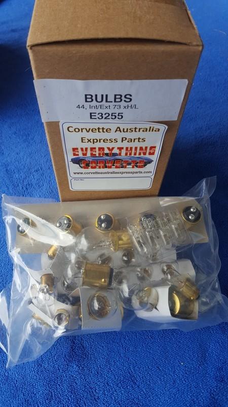 BULB KIT-INTERIOR-EXTERIOR-73(#E3255)  4D4