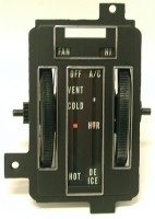 CONTROL REFACE KIT-HEATER WITH AIR CONDITIONING-68 (#E6788)