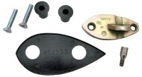 MOUNTING KIT-EXTERIOR REAR VIEW MIRROR-RIGHT HAND-7 PIECES-68-79(#E6204)  5A5