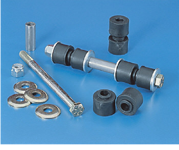 LINK KIT-SWAY BAR FRONT-POLY BUSHINGS-63-82 (#E17329) 2D2