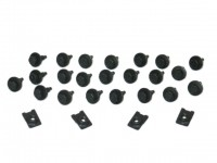 MOUNT KIT-FRONT AIR DAM AND VALANCE PANEL SCREW SET-26 PIECES-73-79 (#E5897)