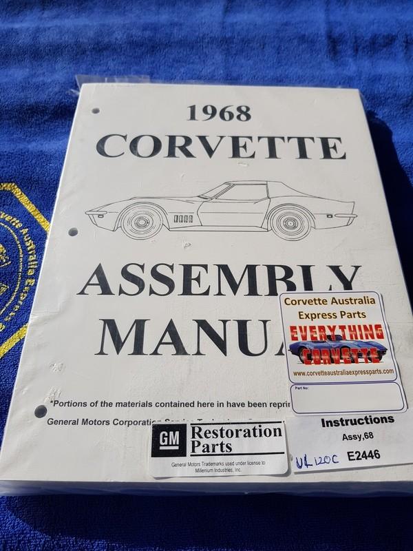 ASSEMBLY MANUAL-68 (#E2446) 1B3