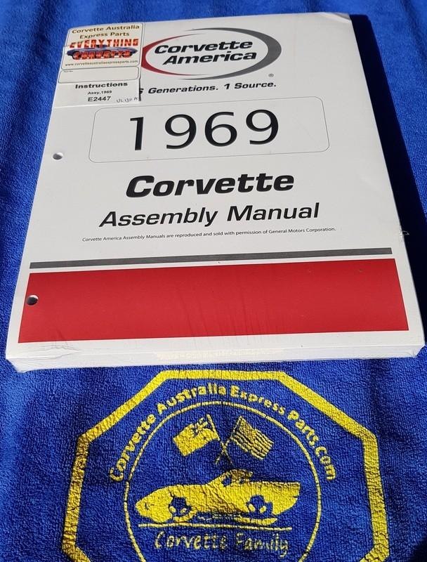 ASSEMBLY MANUAL-69 (#E2447) 1B3