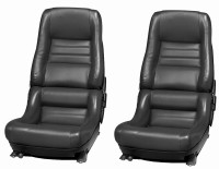 COVER-SEAT-LEATHER-VINYL-4 INCH BOLSTER-78 PACE-79-82 (#E6977)  82 Chacoal